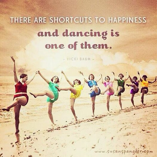 dancing happiness shortcut photo