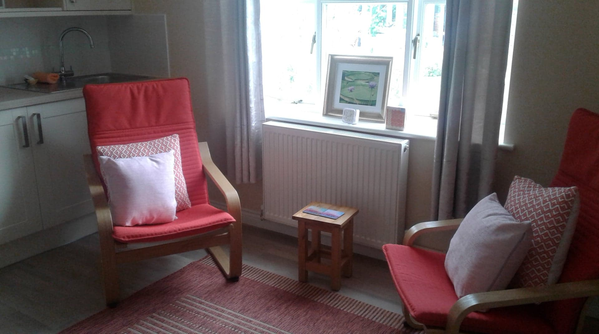 Our Peaceful Therapy Room